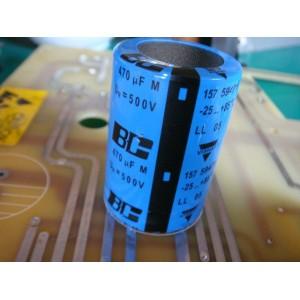 BC 470uf/500V電解電容